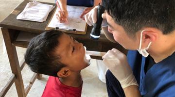 カンボジアの子供たちの、口内環境向上を目指して